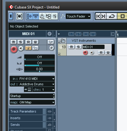 Using the Rock Band drum kit as an electric MIDI drum kit – Hamblast